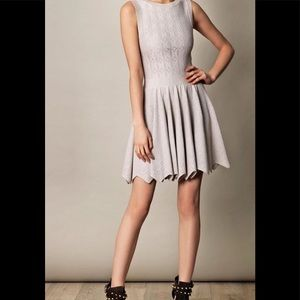 Alaia Designer Nude Cocktail Dress